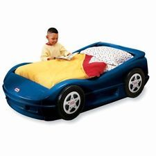 LITTLE TIKES BLUE Roadster RACE CAR RACECAR Toddler BMW Bed CRIB MATTRESS