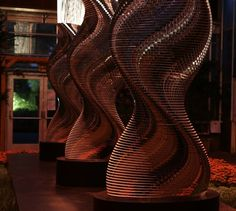 Image for Three Degrees Bruce Munro Installation Art, Atlanta, Image, Lights, Art Installation