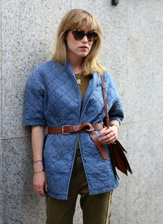 Current/Elliott Quilted Car Coat #anthropologie | Adornment ...