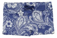Shop At Stella Cove | Paisley Blue Fitted Shorts For Boys