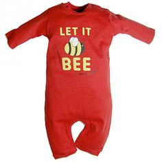 Let It Bee baby gro. #organic #fairtrade #eco #baby