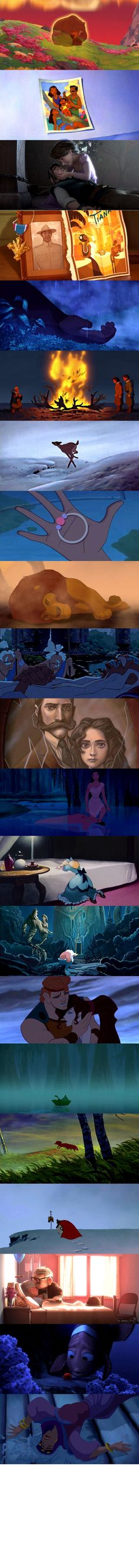 Sad Moments in Disney and Pixar Films