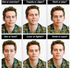 Dylan, awwh! Lol, this makes me laugh !