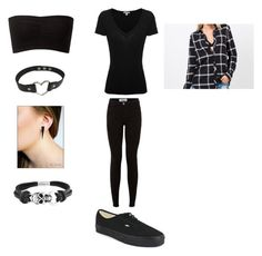 """""""OOTD Tomorrow """" by bvbarmy43 ❤ liked on Polyvore featuring James Perse, Vans and Bling Jewelry"""