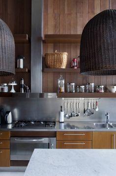 Modern rustic kitchen by Estudio Martin Gomez Arquitectos