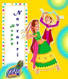 May this Navratri fill your life with the colours of Happiness & Prosperity.