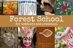 There's a growing number of schools and play groups which are taking place outdoors in the woods. At these forest schools children, dressing in warm or waterproof clothing to match the weather, spend most, if not all, of their day outside, playing and learning in nature. Some nurseries and play groups are designed so all the activities are outside. And more and more traditional child-care settings are creating woodland corners in their grounds, so children can spend part of their day gett...