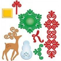 Spellbinders - Shapeabilities - Frosty Forms