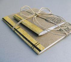 DIY washi tape journals