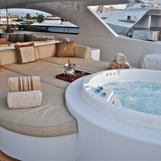 yacht deck pool #cigarparadise