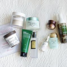 Routine Set (Oily Skin Type)  - 1. BANILA CO. Clean It Zero Purity  2. NEOGEN Green Tea Real Fresh Foaming Cleanser 3. GOODAL Deep Clean Pore Glacial Clay 4. BANILA CO It Radiant Lacy Hydrogel - Calming  5. RE:P Organic Cotton Treatment Toning Pad  6. COSRX Advanced Snail 96 Mucin Power Essence 7. KLAIRS Freshly Juiced Vitamin C Serum 8. MISSHA Misa Cho Bo Yang Eye Cream 9. BENTON Aloe Propolis Soothing Gel 10. MISSHA Mild Essence Sun Milk