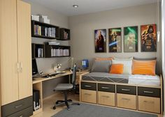 Small Modern Teen Bedroom black bedroom ideas, inspiration for master bedroom designs
