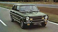 1973 Simca 1100TI. First Hot Hatch in the world