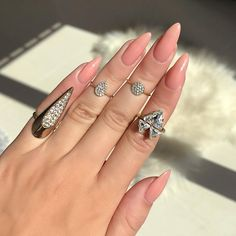 """7,330 Likes, 46 Comments - LAURA BADURA (@laurabadura) on Instagram: """"That's the longest I ever grow my nails  do you prefer short or long nails ? @cndworld Nude…"""""""