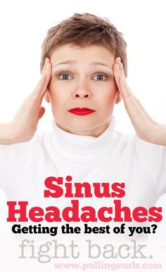 Get sinus headaches, or are allergies giving you constant sinus pressure. Here's some ideas to help! AND a giveaway!