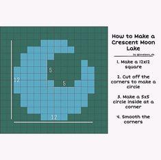 Lake Animals, Pond Animals, Crescent Lake, Animal Crossing Guide, Map Layout, Map Design, Design Ideas, Layout Design, Island Design