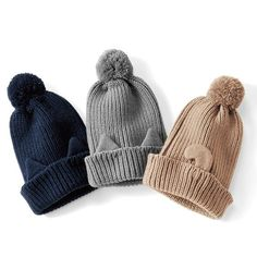 Фотография Knitting Accessories, Girls Accessories, Crochet Motif, Crochet Yarn, Baby Hats Knitting, Knitted Hats, Crochet Winter, Knit Beanie Hat, Kids Hats