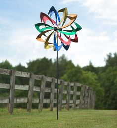 Giant Metal Wind Spinner | Wind Spinners