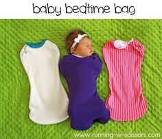 Running With Scissors: Baby Bedtime Bag Tutorial