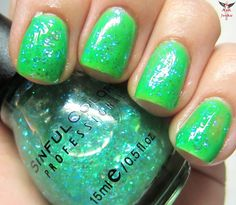 Sorry, no sexy steamy novel here. Just some really lovely and inexpensive Sinful Color polishes to show you. These colors have been i. Sinful Colors Polish, Nail Polish, Shades Of Green, Swatch, My Love, Nails, Beauty, Finger Nails, Ongles
