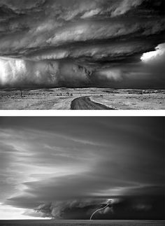 """Storms"" Photography Series by Mitch Dobrowner"
