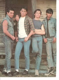 The outsiders preferences and stuff😜 - Age you met - Wattpad The Outsiders Preferences, The Outsiders Imagines, 80s Movies, Good Movies, The Outsiders Cast, The Outsiders Sodapop, The Outsiders Ponyboy, Die Outsider, Image Film