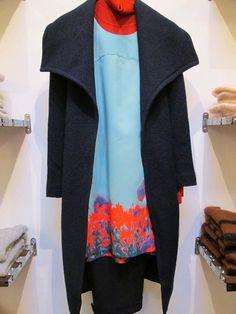 Cacharel dress, Stefanel coat