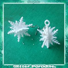New to GlitterParadise on Etsy: Snowflakes (12.00 EUR)
