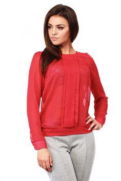 :) #bluzka #mokado #odziez #fashion #trendy #moda #butik  https://www.mokado.pl/Bluzka-Model-MOE125-Red-p7168