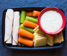 5 Simple Snack Boxes for Busy People All American