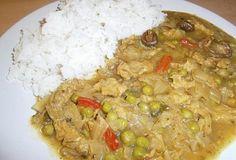 Veganský indický guláš Fried Rice, Fries, Cooking, Ethnic Recipes, Food, Fitness, Diet, Kitchen, Essen