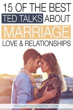 Click through to watch the best TED Talks about love, relationships and marriage. Challenge your thoughts and start to look at things from a different perspective. Some of the best marriage advice and relationship tips around. #marriageadvice #marriage #tedtalks #relationshiptips #happymarriage