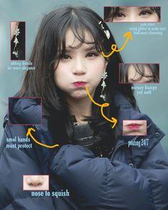 Eunha anatomy