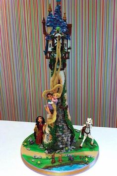 Def the best Tangled cake I've ever seen.  Cake Wrecks - Home - Sunday Sweets: A Disney Movie Marathon