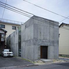 Casa em Koamicho, Hiroshima (Japão) por Suppose Design Office. Koachimo house in Hiroshima (Japan), by Suppose Design Office.