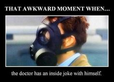 That awkward moment when the Doctor has an inside joke with himself: Are you my mummy #theemptychild | lol Doctor Who