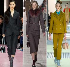 Fall/ Winter 2015-2016 Fashion Trends: Suits
