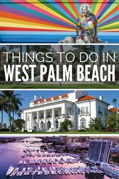West Palm Beach attractions guide with unmissable things to do in West Palm Beach Florida, USA. Visit the exclusive Palm Beach Island for the best West Palm Beach photography, including the Flagler Museum, luxury West Palm beach shopping street -Worth Avenue, Mar a Lago club, Breakers Resort. Explore Downtown West Palm Beach and the graffiti along Clematis Street. For the ultimate West Palm Beach Vacation and travel guide.