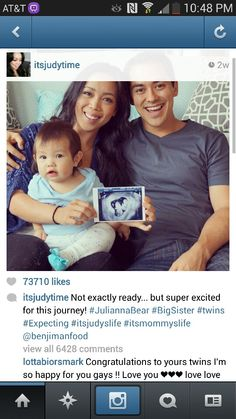 It's Judy life#!!! awesome family :) im hoping to have one someday, too :) #soon