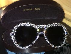 Have a Fave pair of eyewear that need some sparkle? Love Marnie EyeCandy will adorn your glasses with genuine Swarovski Crystals. Go to www.marniegrundman.com for details.