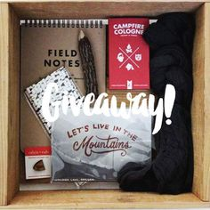Giveaway with a Camping Theme!