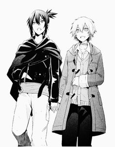 Clothes swap black and white So cute ^^ Anime Love, Manga Anime, Manga Boy, Anime Guys, Light Novel, Nezumi No 6, Yukine Noragami, Lgbt, Shounen Ai