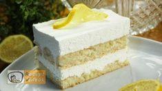 Lemon Cream, Sour Cream, Lady Fingers Recipe, Baking Tins, Food Videos, Recipe Videos, Cookies And Cream, Cream Cake, Popular Recipes