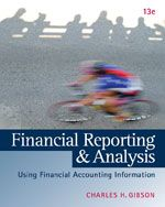 Test bank Solutions for Financial Reporting and Analysis 13th Edition by Gibson ISBN11331887967 9781133188797 INSTRUCTOR TEST BANK SOLUTIONS VERSION  http://solutionmanualonline.com/product/test-bank-solutions-financial-reporting-analysis-13th-edition-gibson-isbn11331887967-9781133188797-instructor-test-bank-solutions-version/