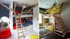 6 Habitaciones infantiles muy originales | Más Chicos