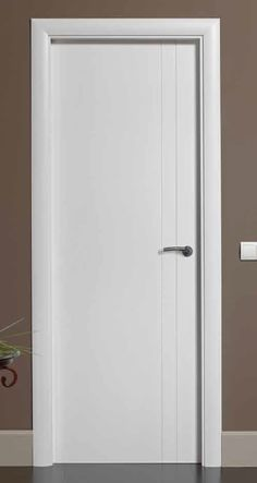 Benefits of Using Interior Wood Doors Room Door Design, Door Design Interior, Wooden Door Design, Interior Modern, Interior Panel Doors, White Interior Doors, Mdf Doors, Room Doors, Entry Doors