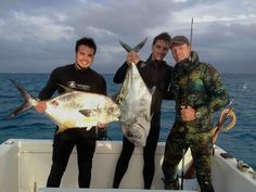Spearfishing African Pompano in Mexico