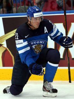 Jori Lehterä, #21 of Team Finland - I just love you. A lot. #hockey #finland #KHL #handsome #skill #finnish