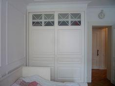 окрашенные деревянные шкафы в спальне - Поиск в Google