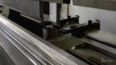 Karice - Crafters of Custom Lighting. The press brake in action. Press Brake, Custom Lighting, Action, Group Action